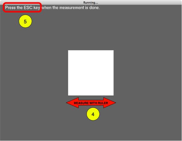 how to set a default color calibration