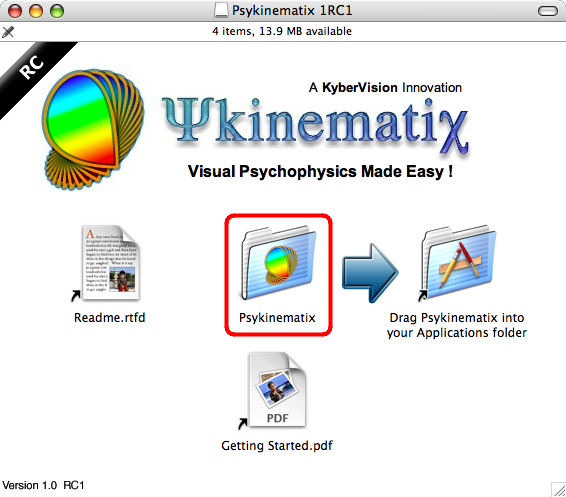 Getting Started with Psykinematix
